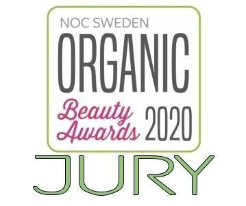 I juryn för Organic Beauty Awards 2020