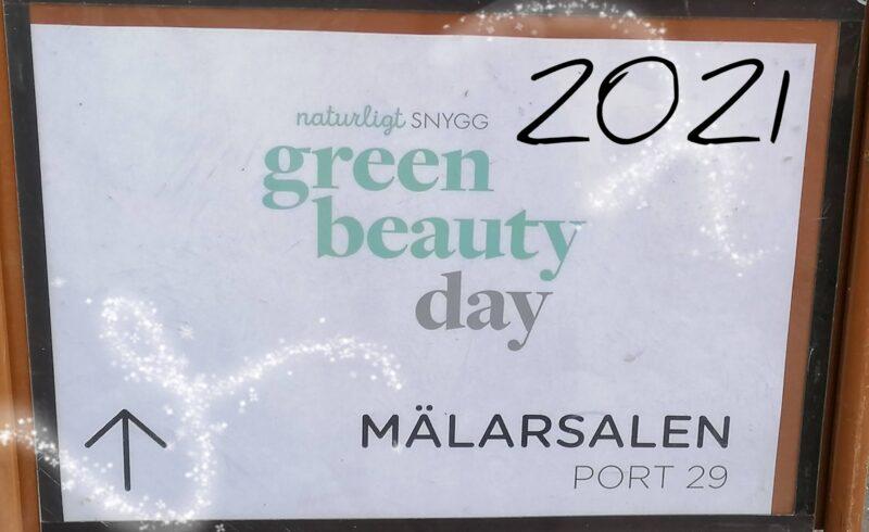 Lite från Green Beauty Day 2021
